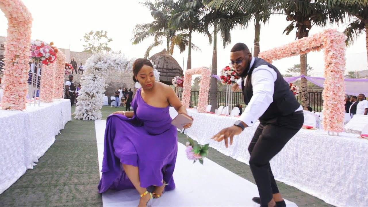 Download This Nigerian Wedding Entrance Will Take your Breath Away!