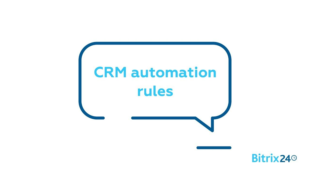 CRM Automation rules
