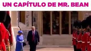 Cuando la visita a Trump parece un capítulo de Mr bean
