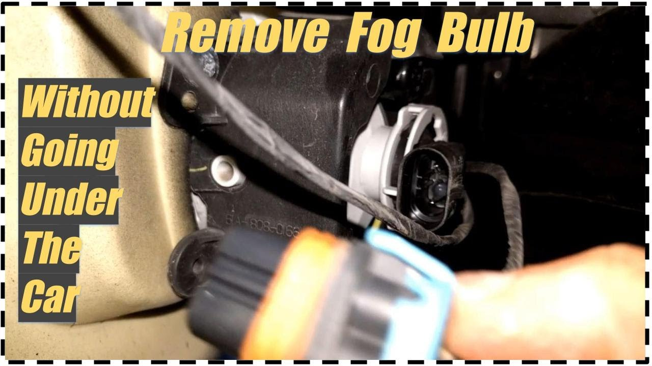 Replace Remove Fog Bulb Low Beam Light Chrysler 300