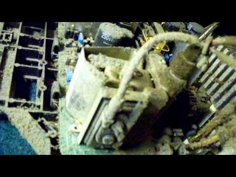 Sony Trinitron: Dust-splosion!