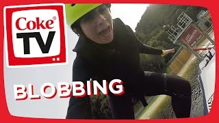 Dodie takes on an Aqua Assault Course! | #CokeTVMoment