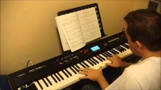 Ben Folds Still Fighting It (piano instrumental cover)