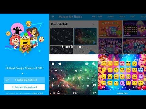 KiKa Keyboard 2020 - Emoji Keyboard, Stickers, GIF Android