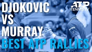 Novak Djokovic vs Andy Murray: Greatest ATP Rallies