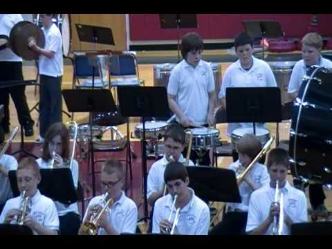WJMS 6th Grade Band -- May 2011