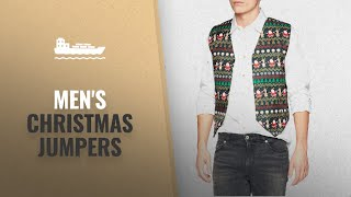 Men's Christmas Jumpers Collection [2018] | Hot Christmas Trends!