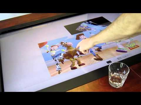 MotionCOMMAND T - Interactive Conference table water-resistant