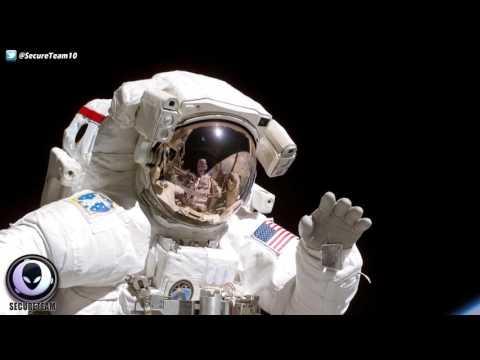 UFO Fleet Creeps By International Space Station 2/17/17