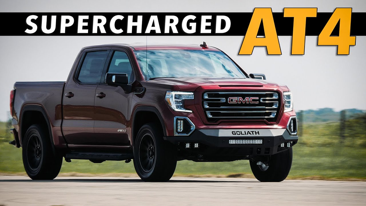 SUPERCHARGED Sierra AT4 Test Drive! // GOLIATH by HENNESSEY