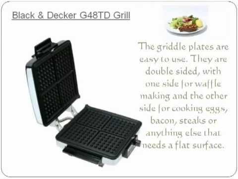 black decker waffle maker instructions