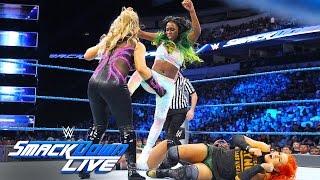 Becky Lynch & Naomi vs. Natalya & Alexa Bliss: SmackDown Live, Aug. 30, 2016