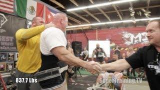Stan Efferding's Record Breaking 2303 lb Total   Mark Bell Commentary   SuperTraining.TV