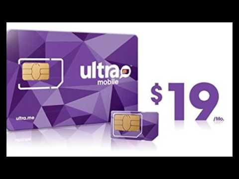 Ultra Mobile All in One SIM Card + $19 Plan Free