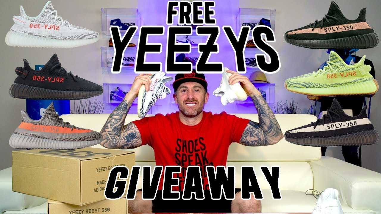 Free Yeezy Giveaway Announcement - YouTube 4d1e1694e