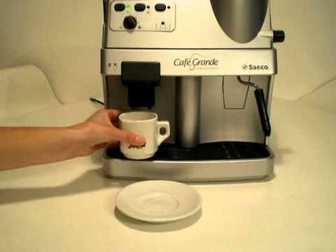 Saeco Grande Cafe.