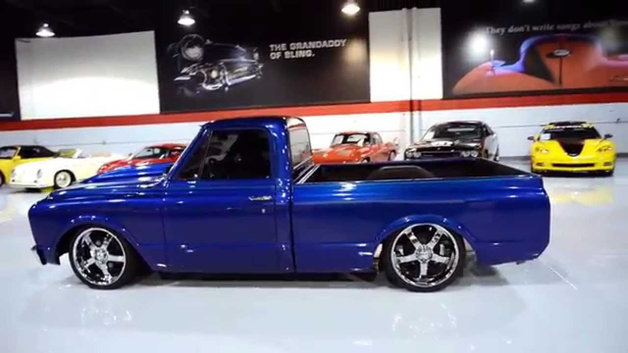 1971 Chevrolet C10 Short Bed Air Ride Truck Doovi