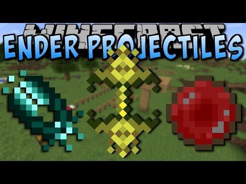 Minecraft ENDER PROJECTILES MOD (Verrückte Items!) [Deutsch]