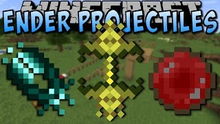 Minecraft ENDER PROJECTILES MOD (Verrückte Items!) [Deutsch]