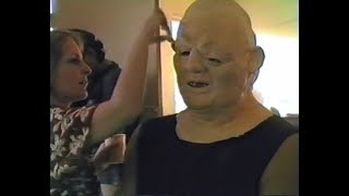 Sloth makeup test for The Goonies (1984)