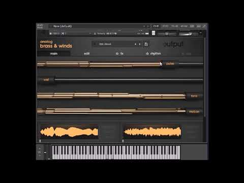 ANALOG BRASS AND WINDS by Output for Kontakt - Simply A Beautiful Instrument
