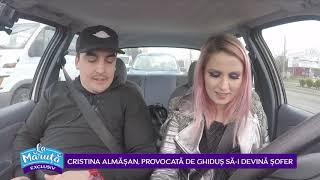 Cristina Almasan, provocata de Ghidus sa-i devina sofer