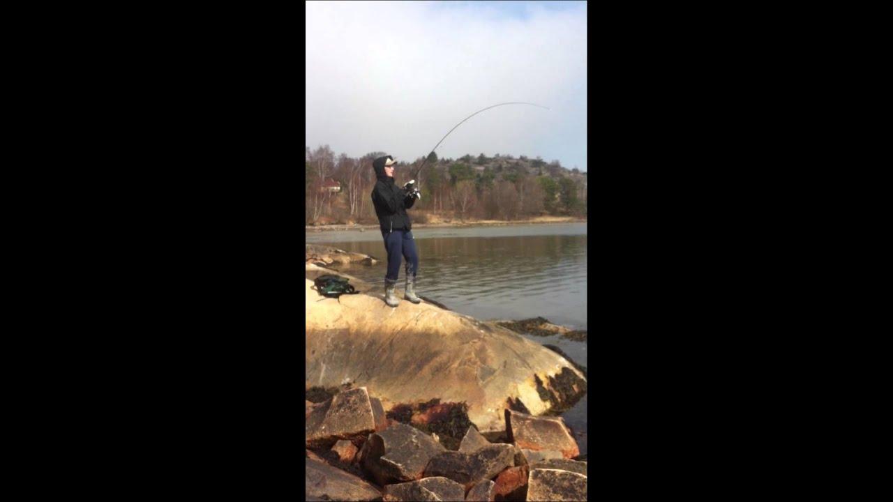Sjukt stor fisk