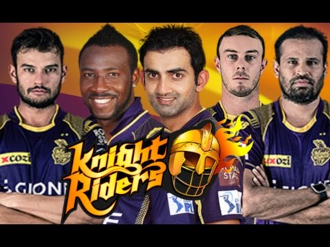 Kolkata Knight Riders Team Full Squad 2017 - HUNGAMA