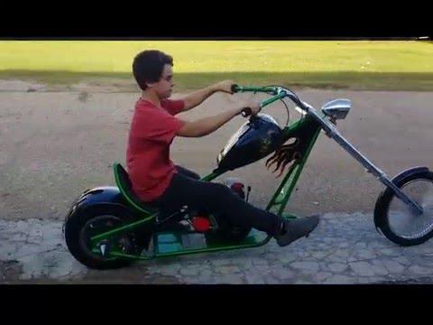 12 Year Old Builds Mini Chopper