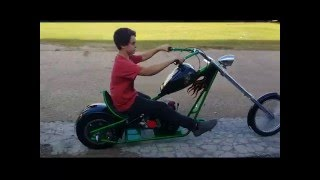 12 Year Old Builds Mini Chopper