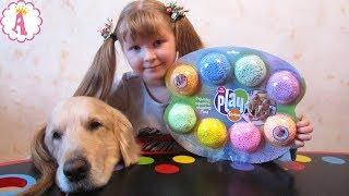 Яркий шариковый пластилин Playfoam Радуга от Educational Insights поделки, отзывы, видео