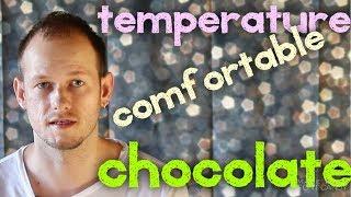 КАК ПРОИЗНОСИТЬ temperature | chocolate | comfortable | vegetable. Американский Акцент