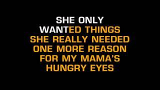 Merle Haggard Hungry Eyes Karaoke