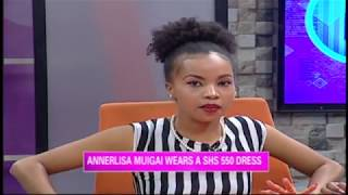 Anerlisa Muigai's 550 shillings dress Vs Brenda's 300  shillings dress