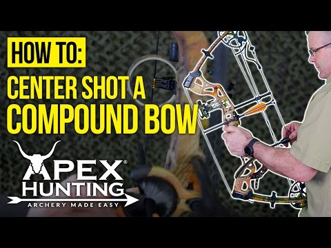 How To Center Shot A Bow For Your First Shot