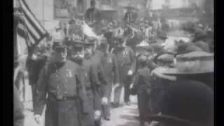 Funeral of Hiram Cronk