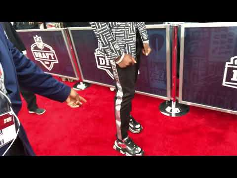 Deandre Baker 2019 NFL Draft Red Carpet Nashville Best Dressed