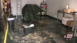 Video: Business owner sees extensive damage after heavy Corpus Christi floods
