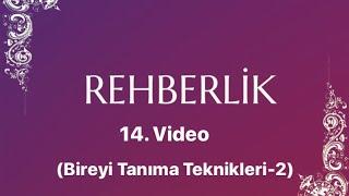 Salih YILDIRIM -REHBERLİK- 14. Ders