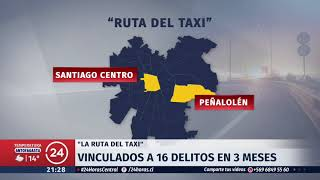 Cae banda que robaba taxis para cometer delitos