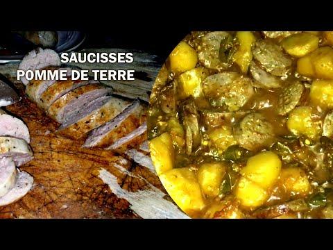 sauté-de-pommes-de-terre-aux-saucisses-fraîches,-recette-réunionnaise-facile.
