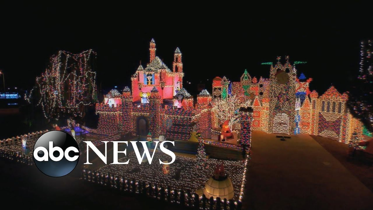 entire neighborhoods battle for best christmas light display youtube