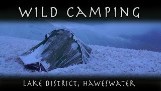 Winter Wild Camping - Haweswater, Lake District.