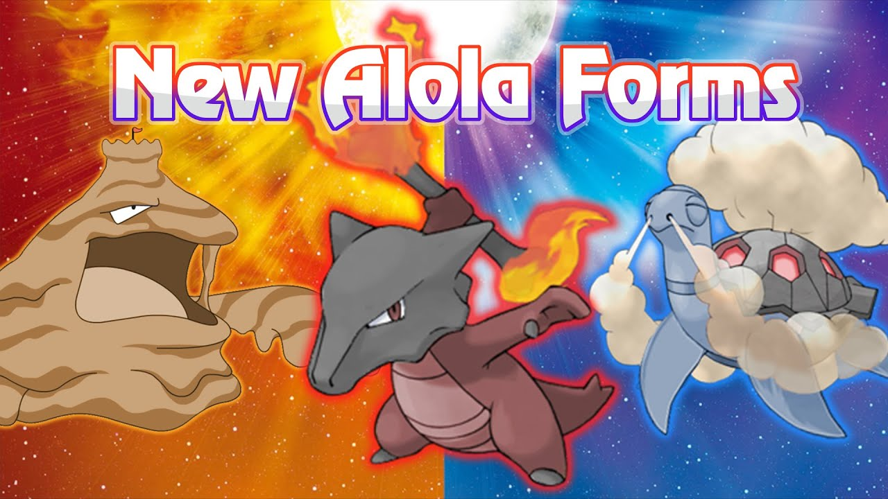 New Potential Alola Forms for Marowak, Muk, Torkoal, and MORE ...