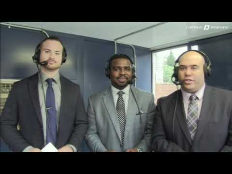 Emory Hunt Color Commentary - Georgetown vs Princeton Full Game (Oct 2016)