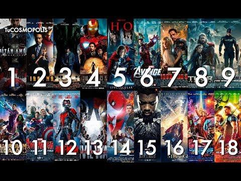 8 peliculas antes de infinity war