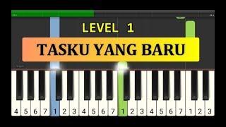 not piano tasku yang baru - tutorial piano tingkat 1 - lagu anak anak ciptaan at.mahmud