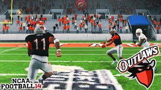 This Terrible Throw was a Touchdown! NCAA 14 Team Builder Dynasty Ep. 11