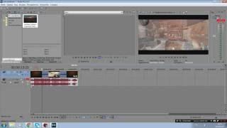 Sony Vegas Pro 13 видео урок как сделать быструю перемотку и замедление