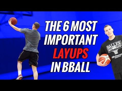 🏀Basketball Layup SECRETS: 6 Ways To Shoot A Layup In Basketball